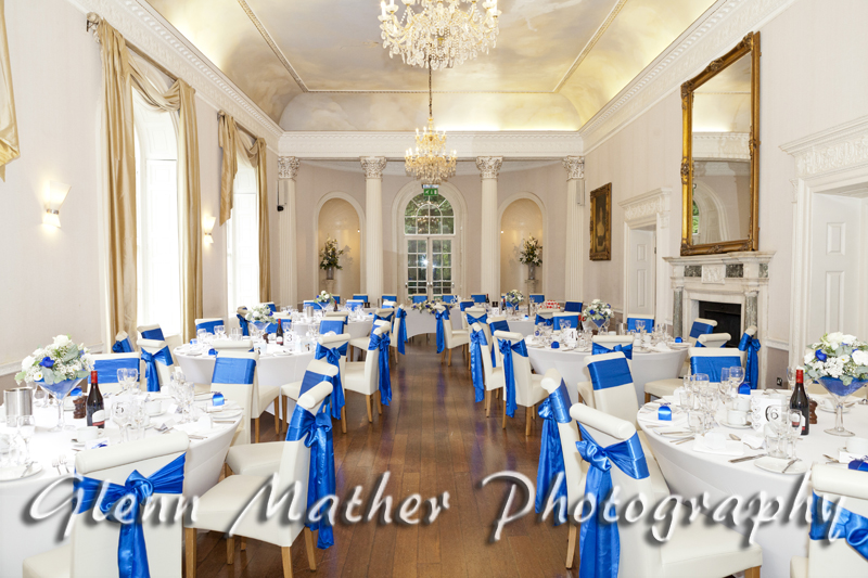 Colwick Hall wedding breakfast