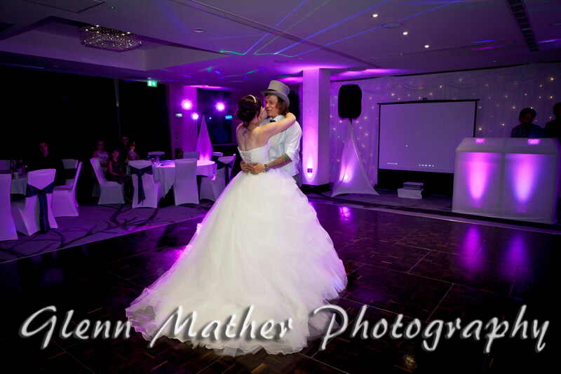 First dance at the Double Tree