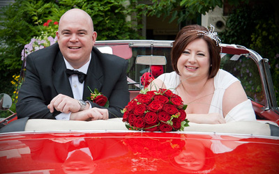 West Brigford wedding car