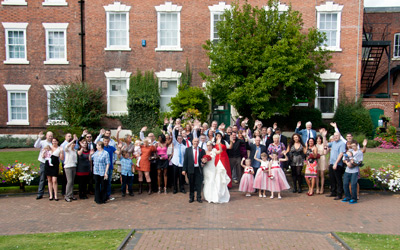 West Bridgford wedding group