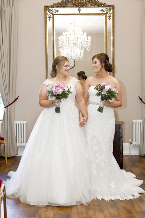 West Bridgford bride and bride