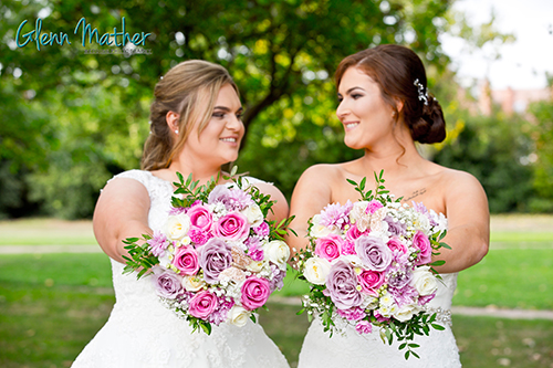 beautiful brides at all day nottingham wedding